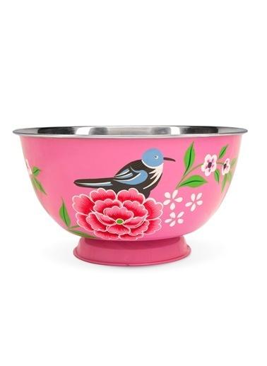 Kuşlu Pembe Kase-3rd Culture